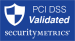 PCI DSS Validated blue