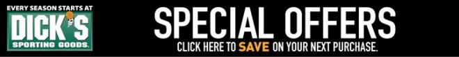 DICK'S Sporting Goods - Special Offers
