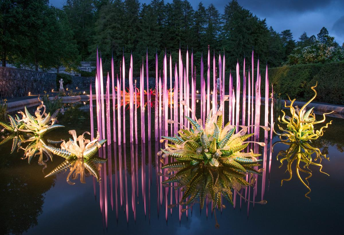 Chihuly Nights at Biltmore
