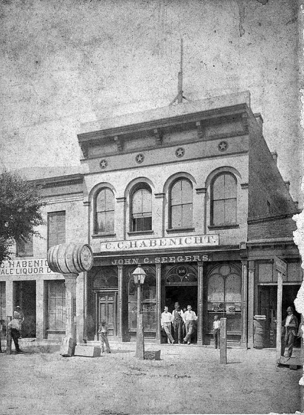 Seegers-Habenicht Building, C. 1880