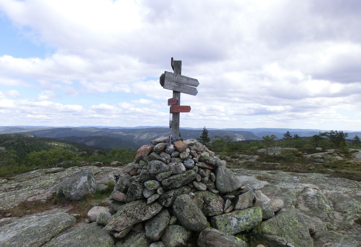 Himmelsyna hiking