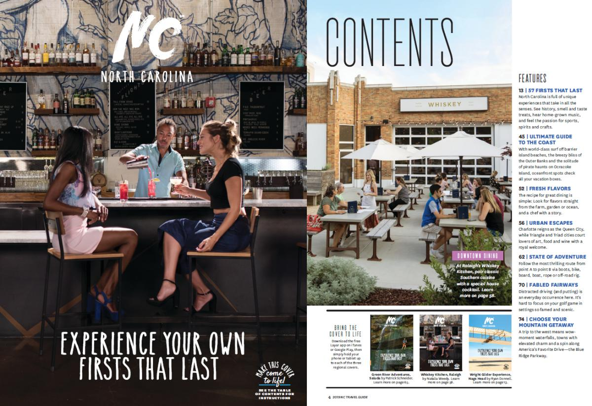 Visit NC Travel Guide Cover