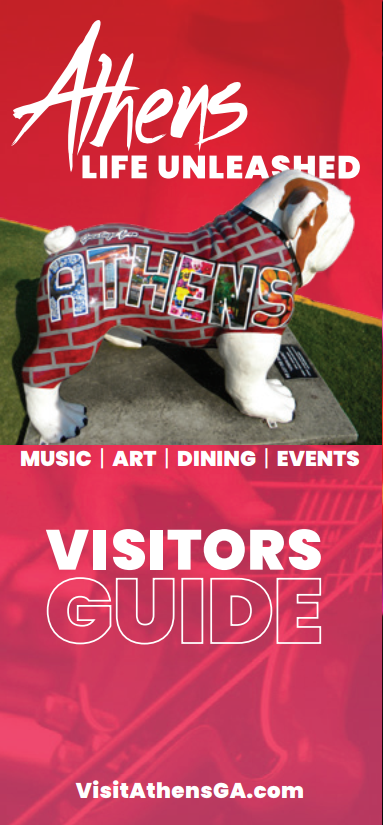 Athens Georgia Visitors Guide cover