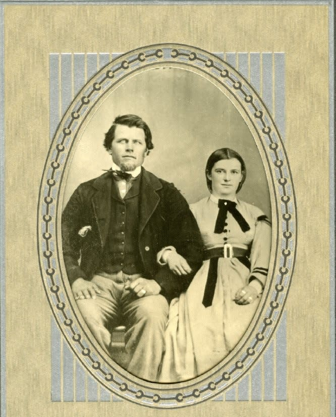 George-and-Mary-Zweck-Wedding-Photo_1866