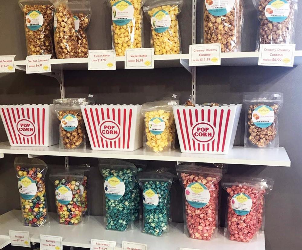 Poptique Gourmet Popcorn