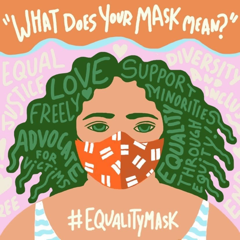 AfroPlump Art - What Does Your Mask Mean