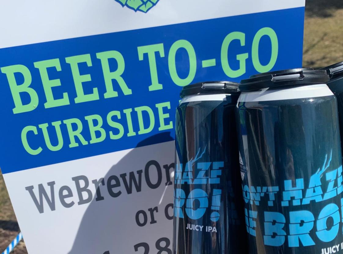 Order for curbside pickup