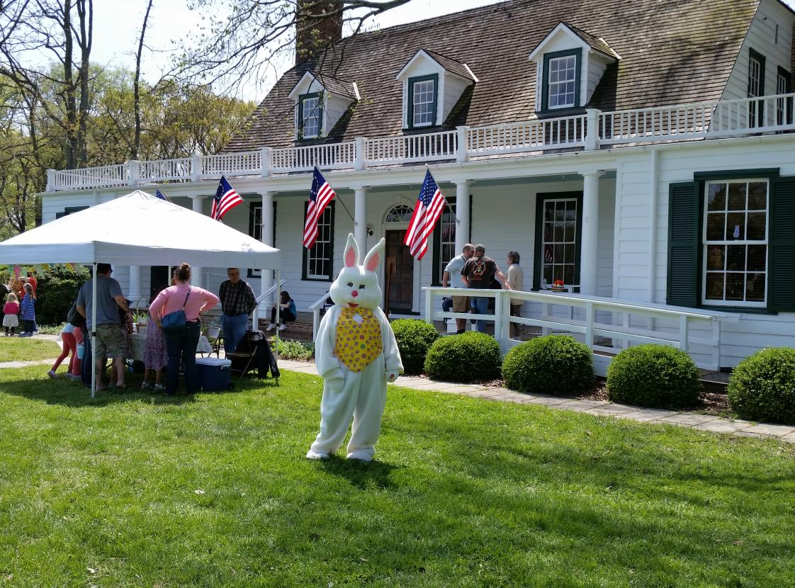 Easter Egg Hunt at Rippon Lodge