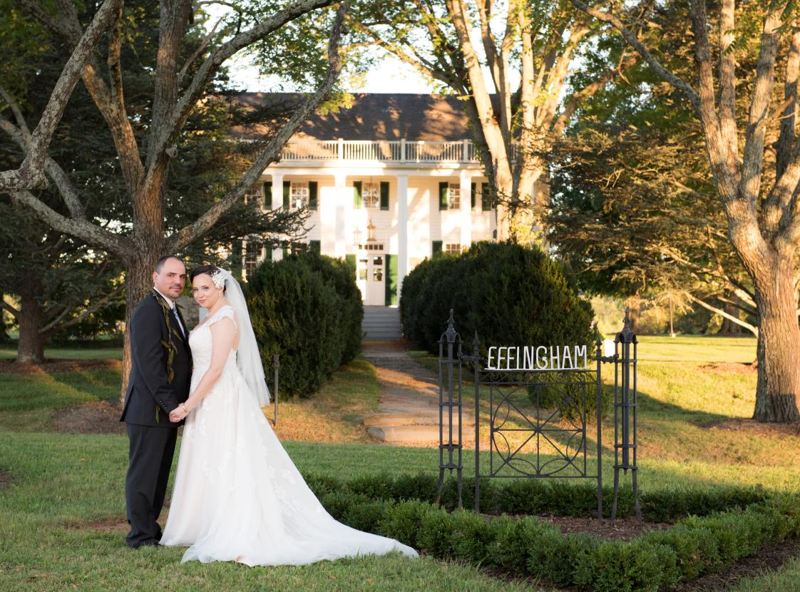 EFFINGHAM MANOR WINERY Wedding