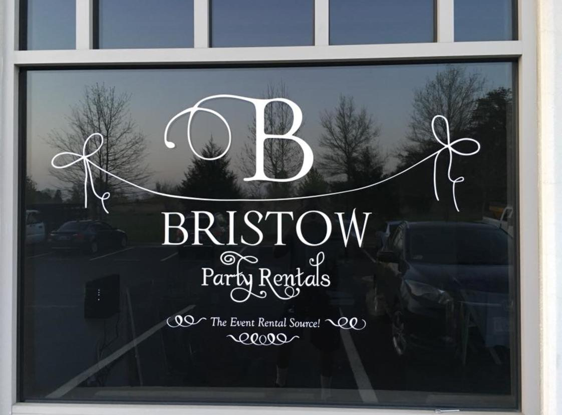 Bristow Party Rentals Door