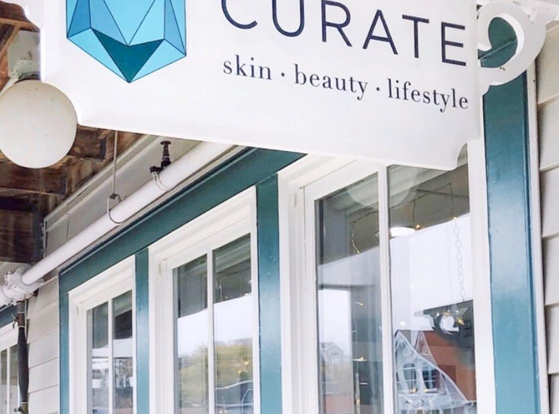 Curate - Exterior Sign