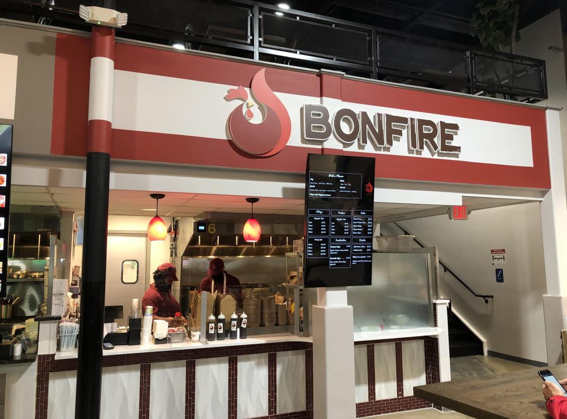 Bonfire Chicken