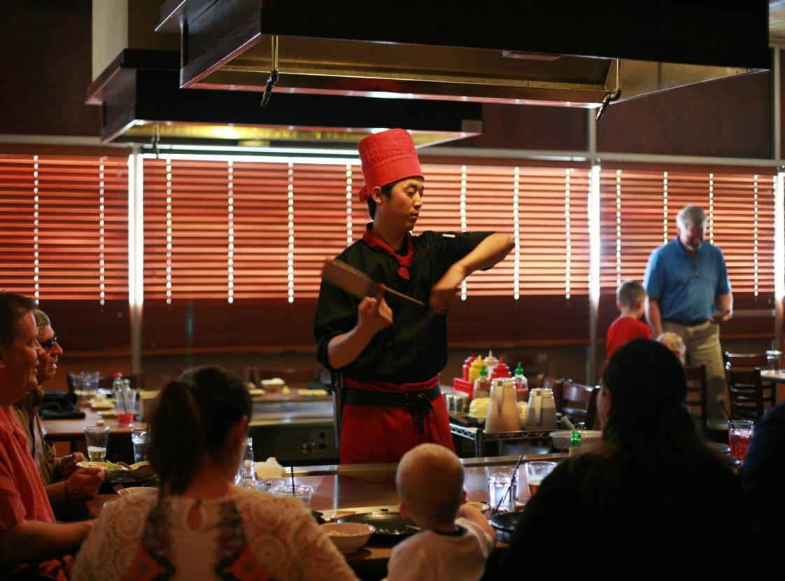 Chef at Japanese Steakhouse