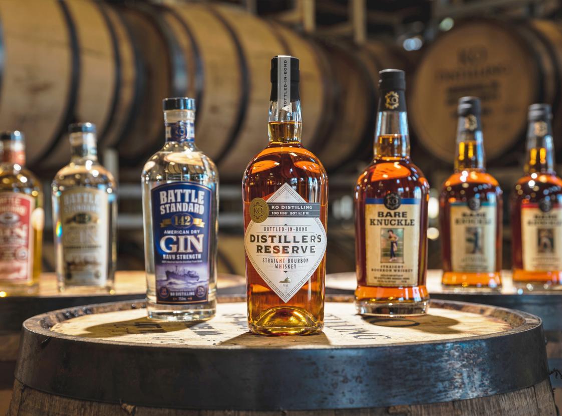 KO Distilling's Spirits