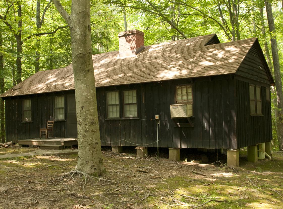 PRINCE WILLIAM FOREST PARK HISTORIC CABIN CAMPS