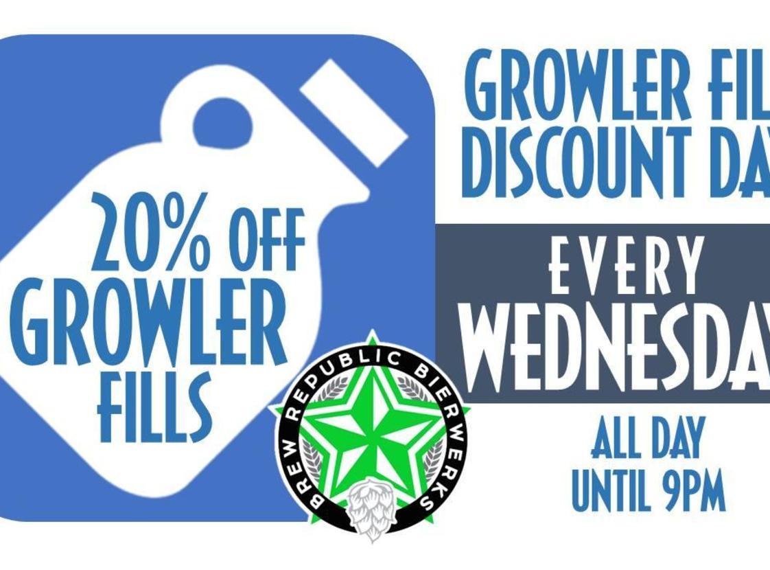 growler discount