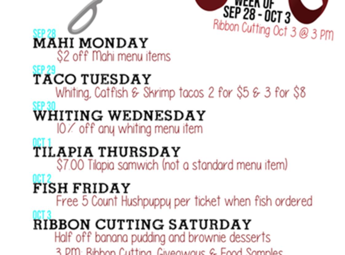 Opening Week Promos