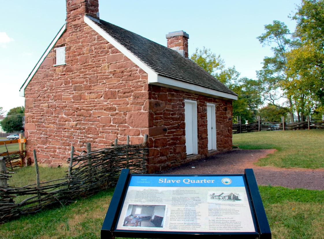 Slave Quarters BEN LOMOND HISTORIC SITE