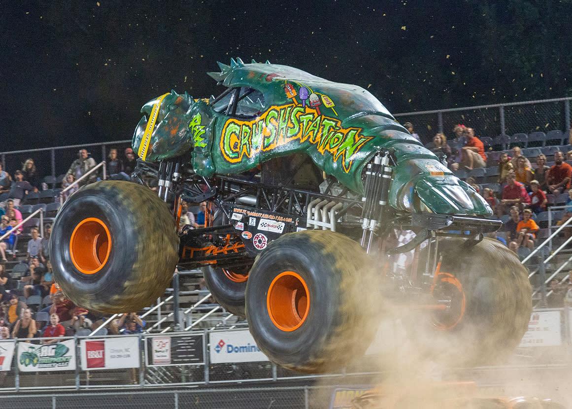 GALOT Monster Truck event held near Benson, NC.