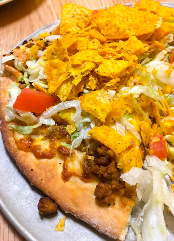 Taco Pizza at Raimondos