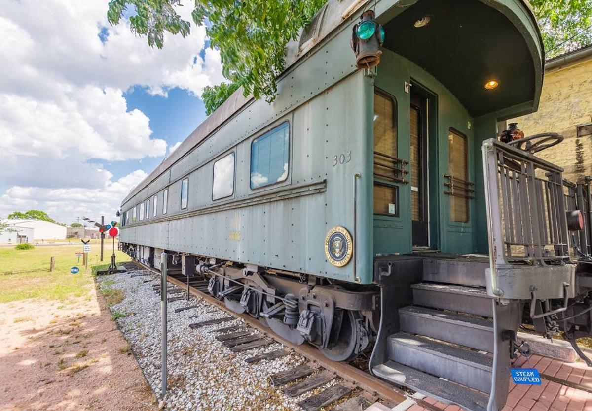 1894 Private Pullman Palace Car New