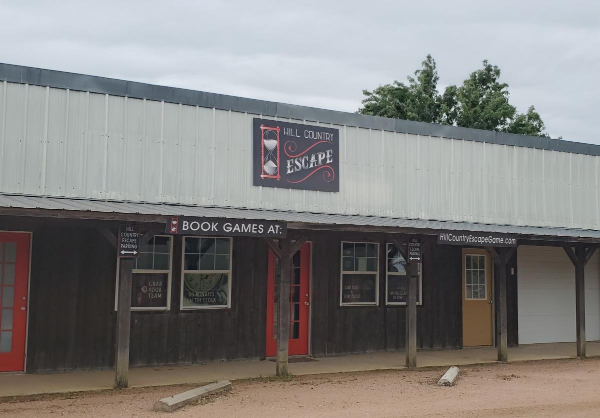 Image of front of building - Escape Room