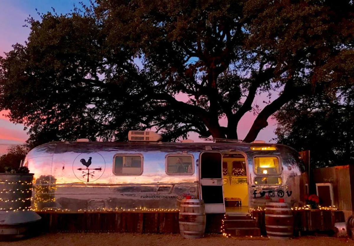 Farm Haus Vineyards Tipsy Trailer