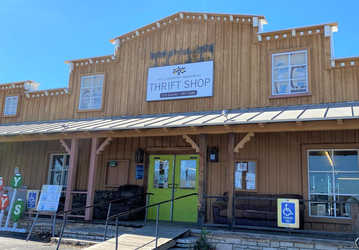 Hill Country Memorial Thrift Shop