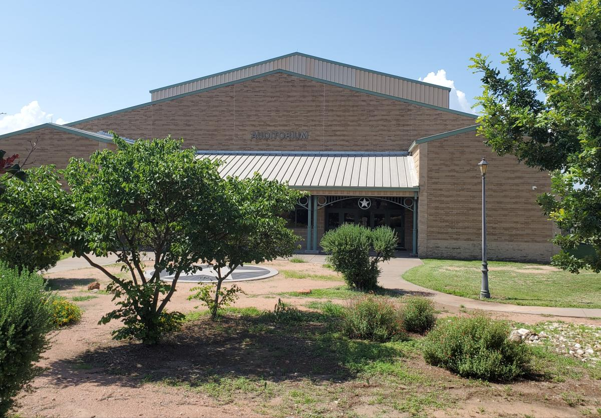 Auditorium image at the FBG High School