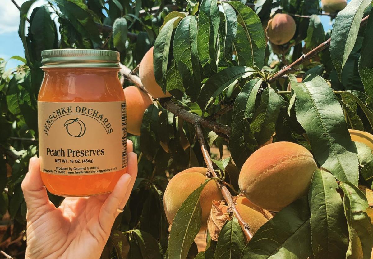 Jenschke Orchards Peach Preserves
