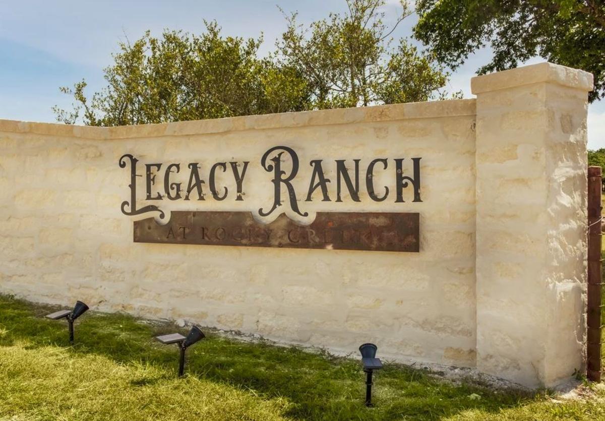Legacy Ranch Entrance