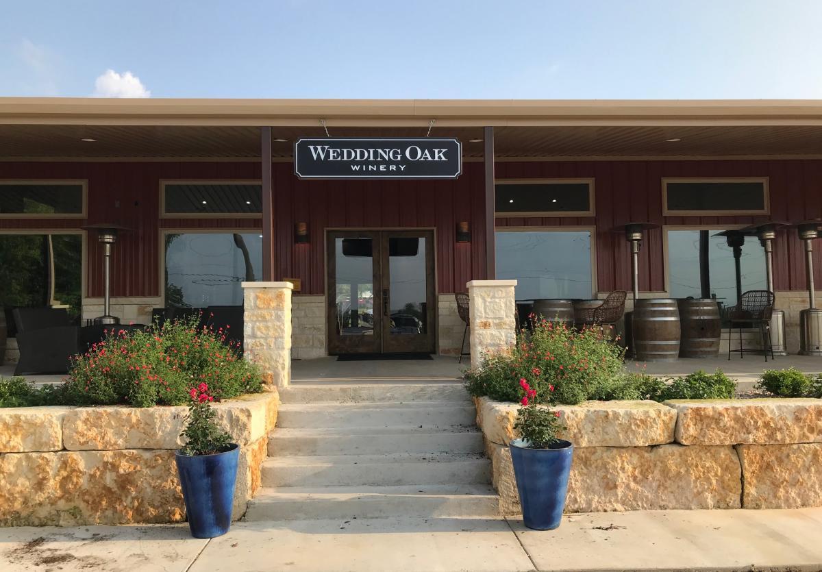 Wedding Oak Winery New