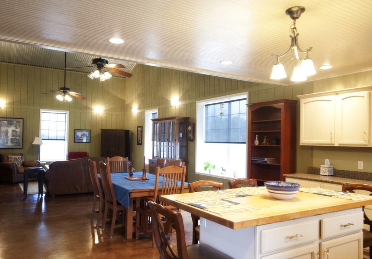 Morris Ranch Barndominium