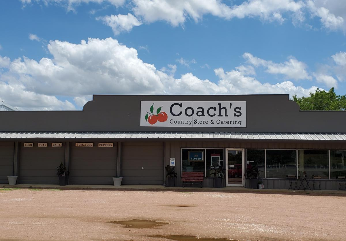 Coaches store front