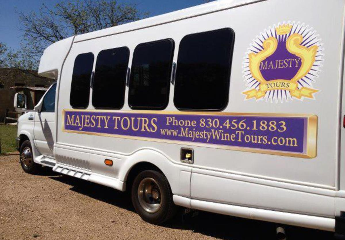 majesty wine tours