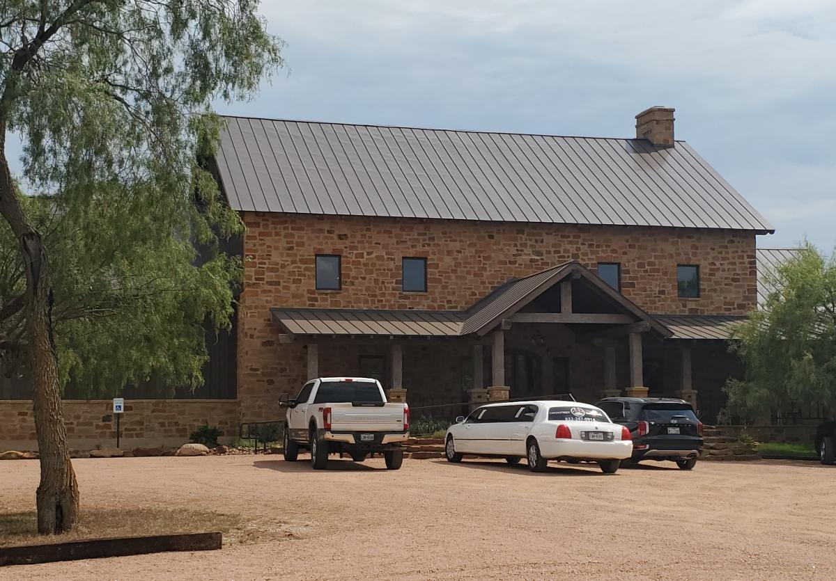 Shot of the winery