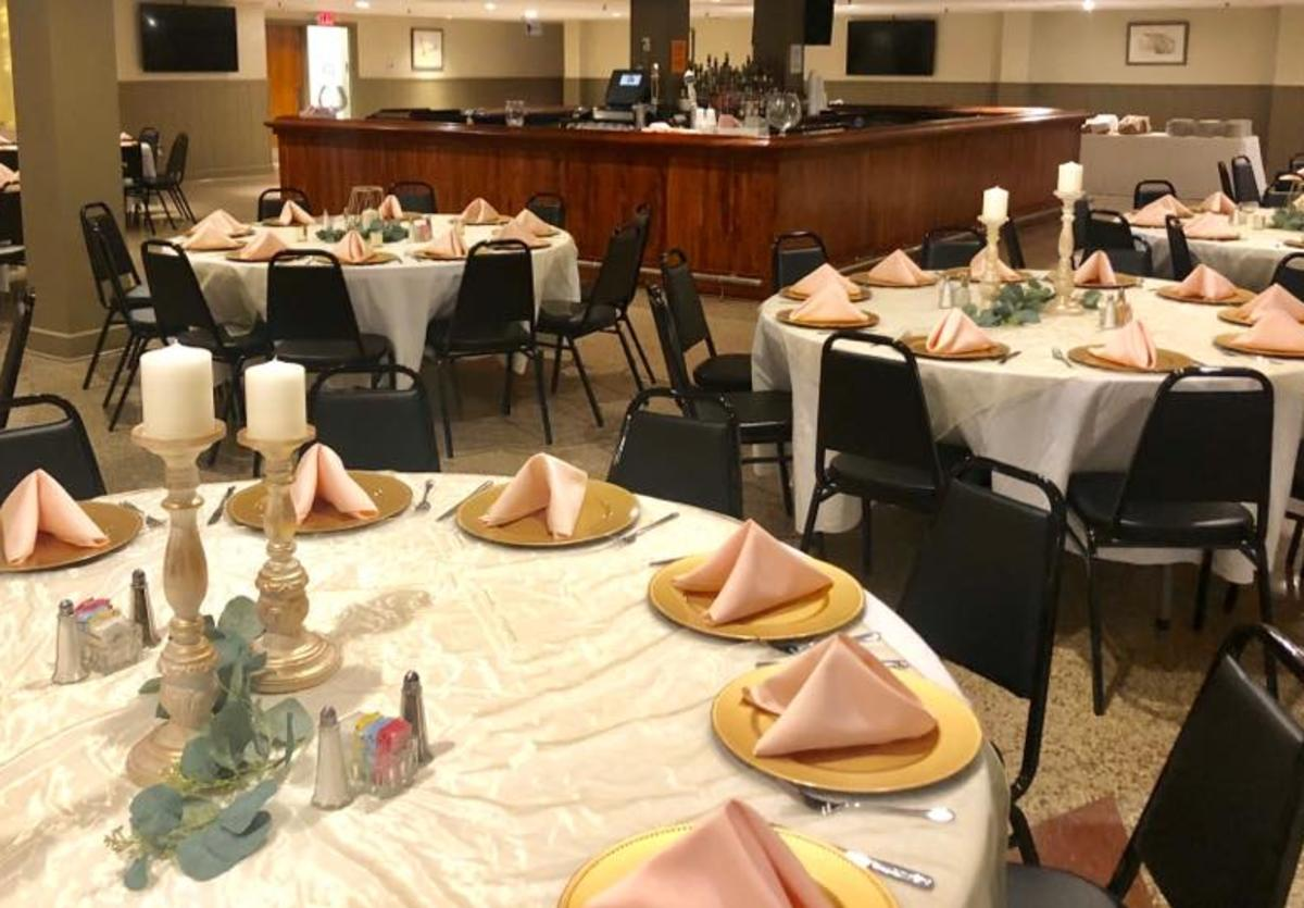 Bluff City Grill banquet room