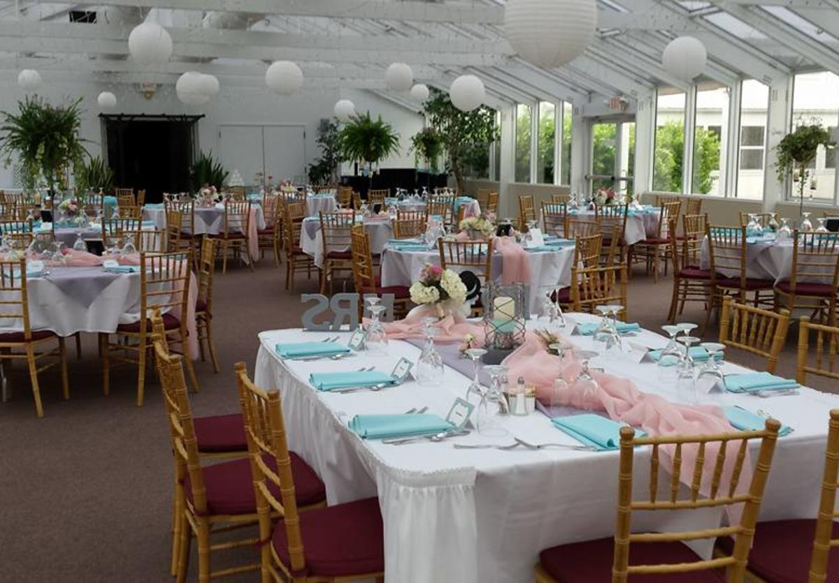 Crystal Garden wedding