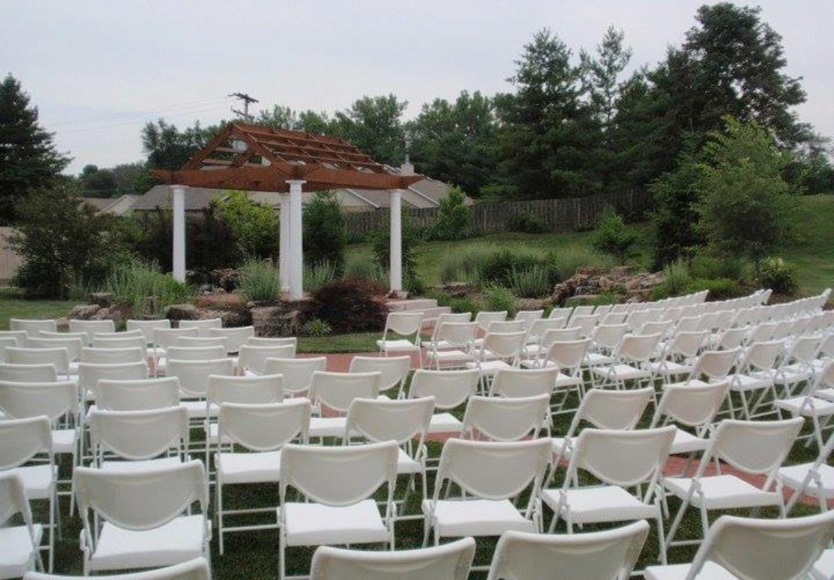 Crystal Garden wedding garden