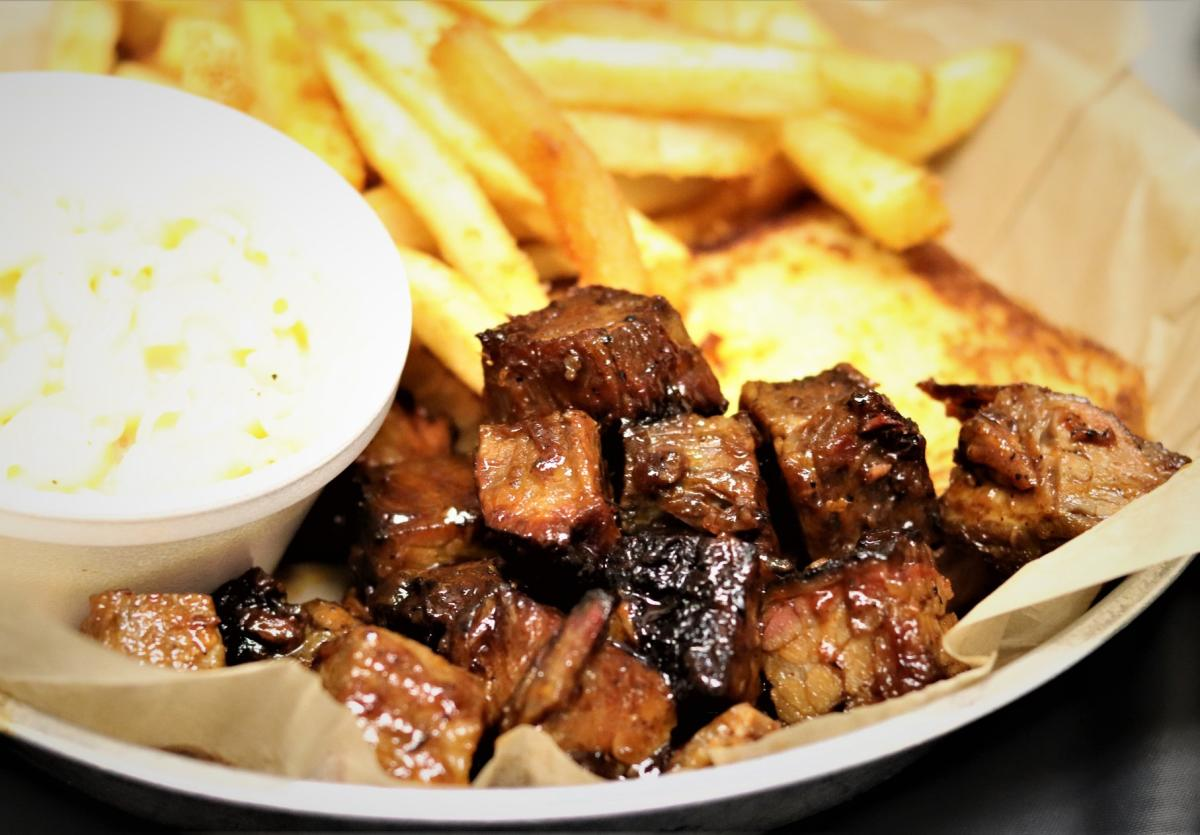 Doc's Smokehouse burnt ends
