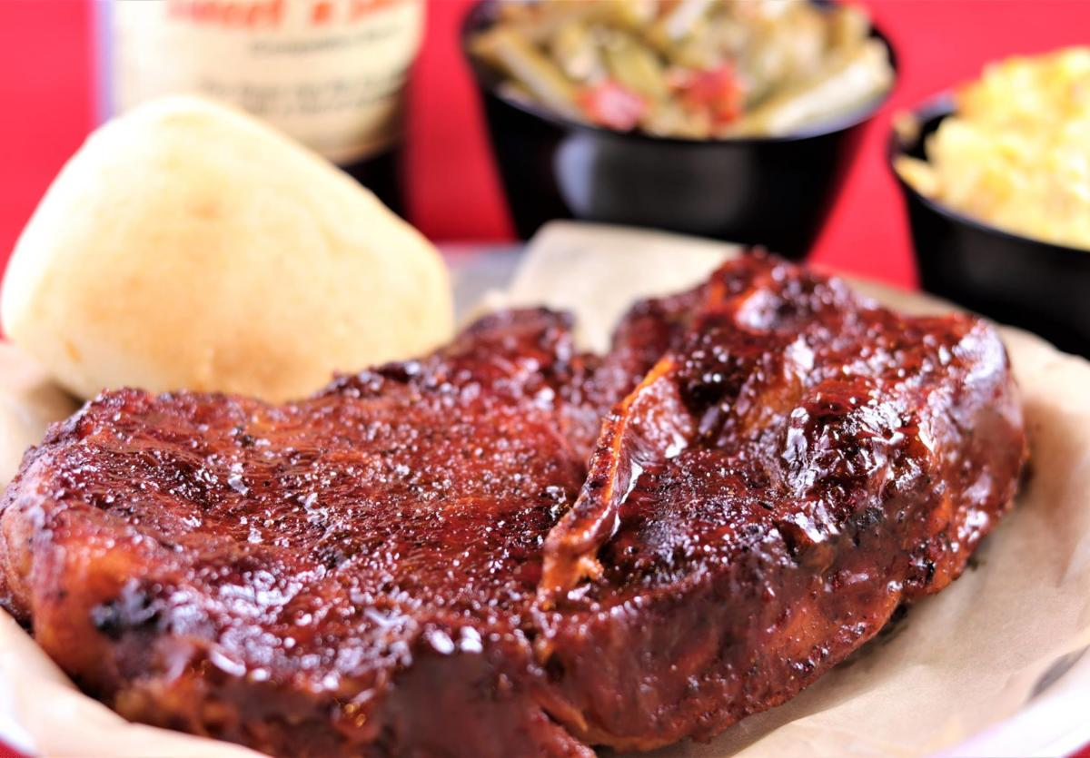 Doc's Smokehouse pork steak