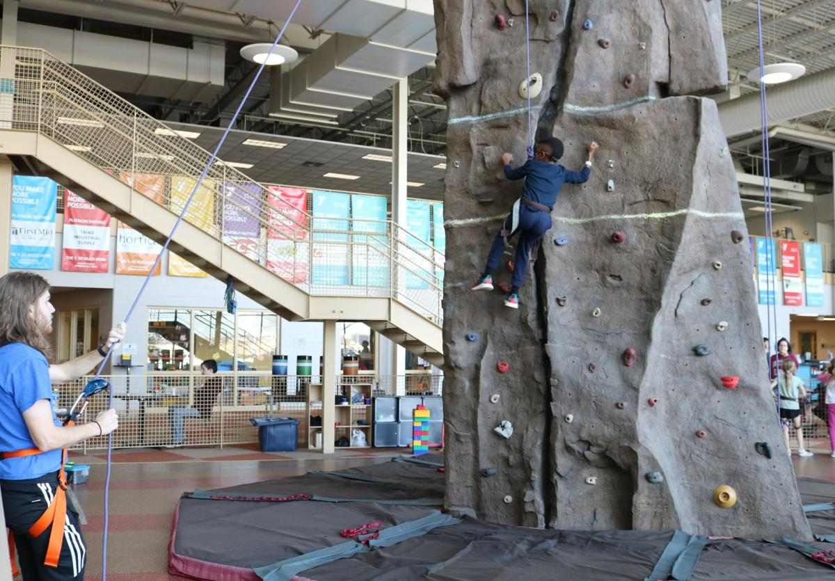 Rock Climb at Edwardsville Meyer Center