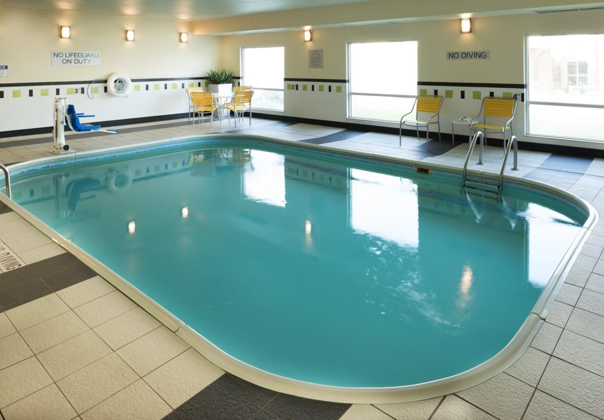 Fairfield Inn Collinsville pool