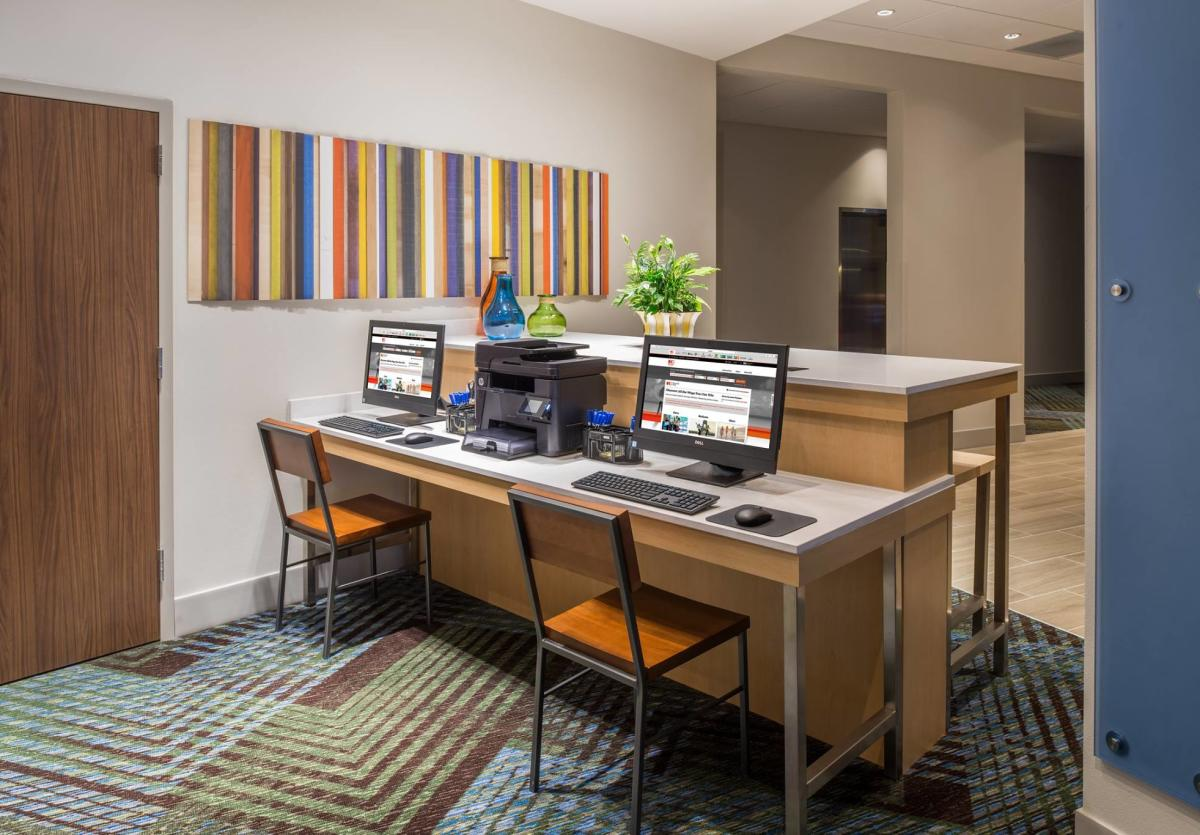 Work space at Holiday Inn Express Troy