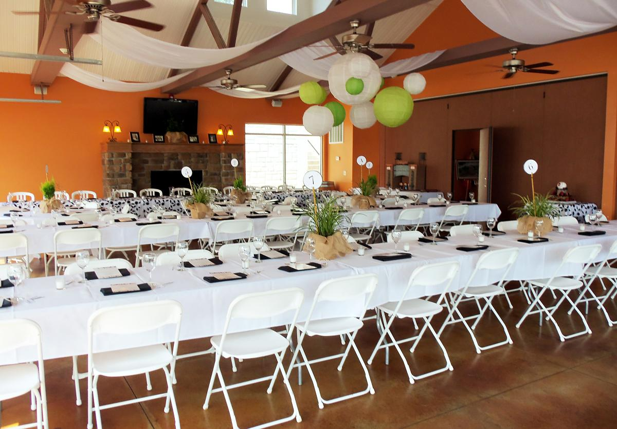 Grafton winery banquet space