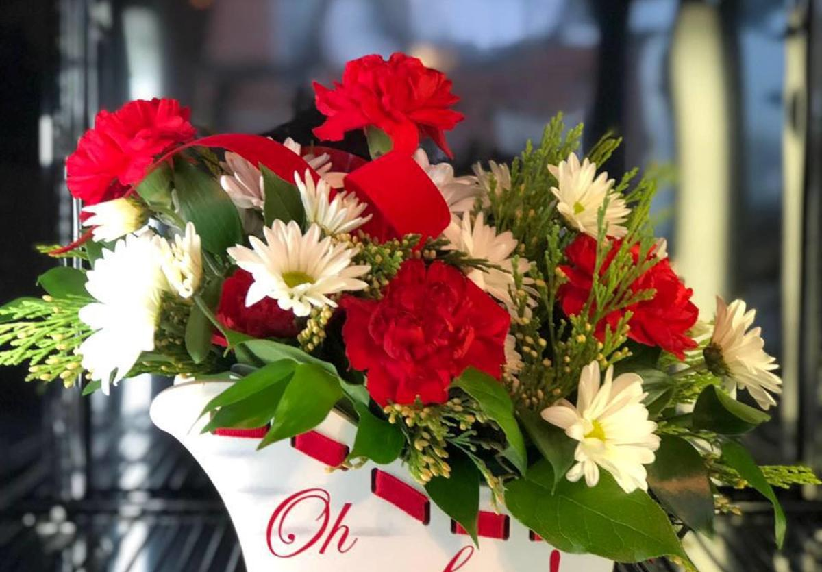 flowers from Cullop- Jennings Florist