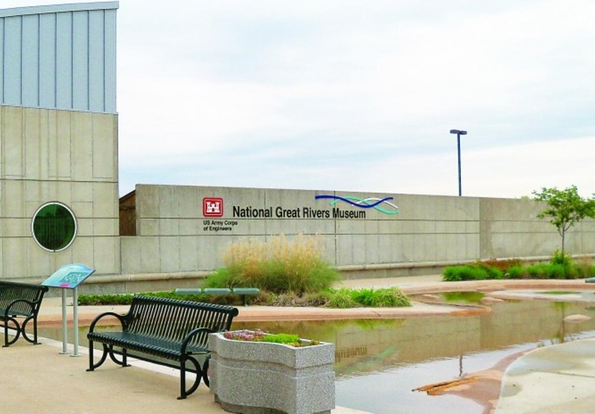 National Great Rivers Museum in Alton, Illinois