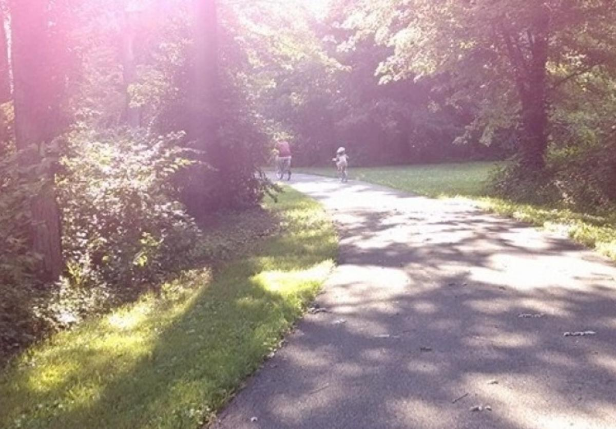 Part of the Bike trail at Marine Heritage Park