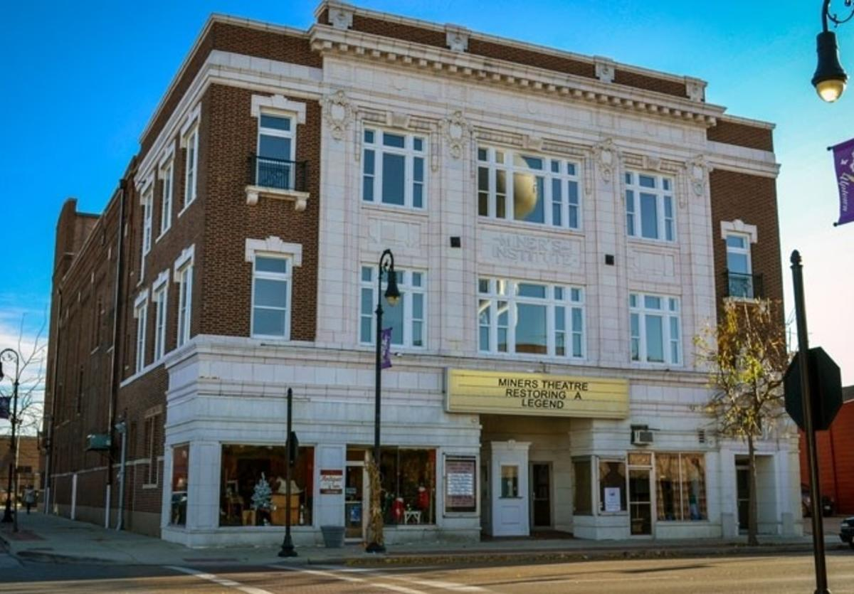 Miner's Theater in Collinsville