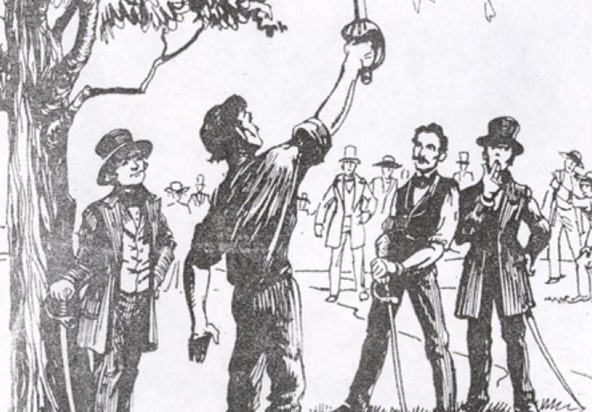 Lincoln - Shields Duel